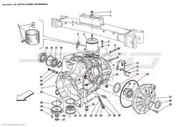 Ferrari Enzo GEARBOX / DIFFERENTIAL HOUSING