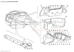 Ferrari Enzo HEAT SHIELDS AND INSULATIONS