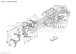 Ferrari Enzo INSIDE GEARBOX CONTROLS
