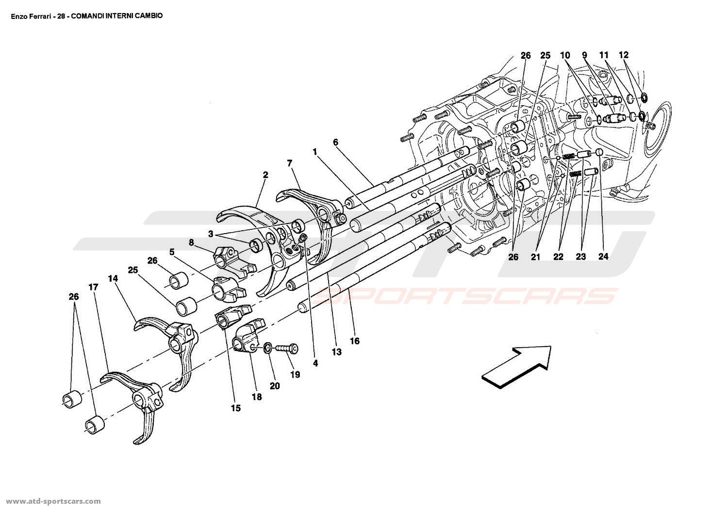 Buick Reatta Fuse Box Diagram 29 Wiring Images On Enclave Ferrari Enzo Inside Gearbox Controls 1990