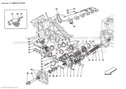 Ferrari Enzo OIL / WATER PUMP