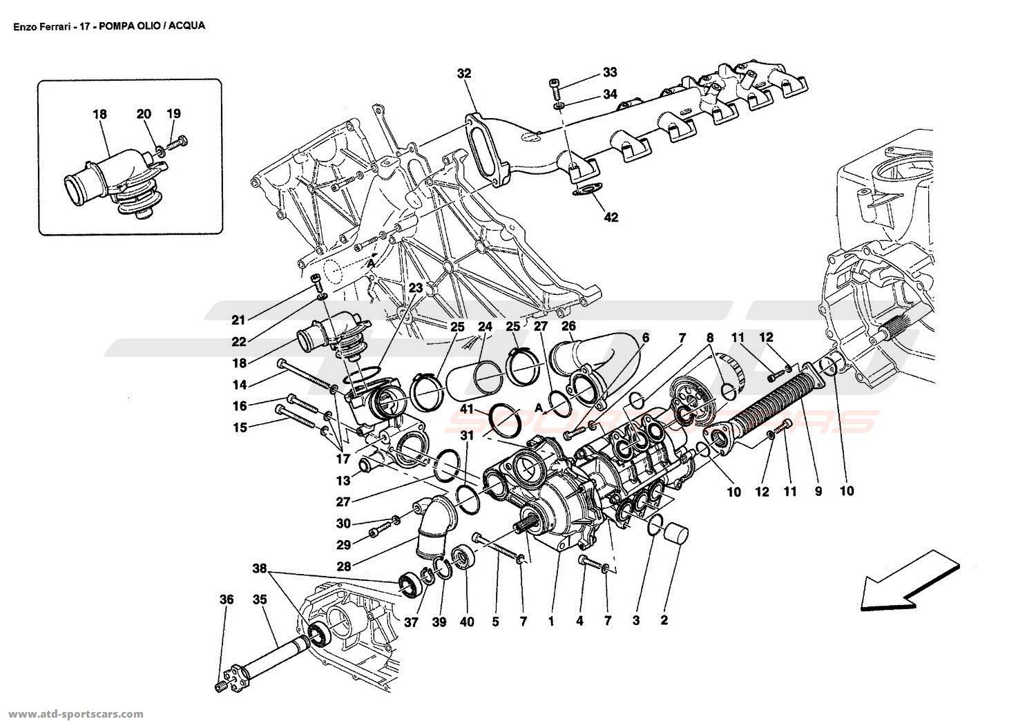 ferrari f430 engine diagram