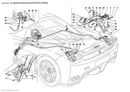 Ferrari Enzo OPENING DEVICES FOR ENGINE BONNET AND GAS DOOR