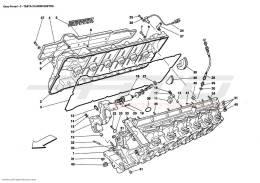 Ferrari Enzo R.H. CYLINDER HEAD