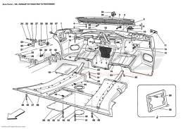Ferrari Enzo REAR BUMPER AND FLAT FLOOR PAN
