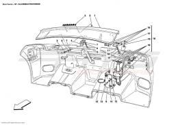 Ferrari Enzo REAR MOVABLE STABILIZER