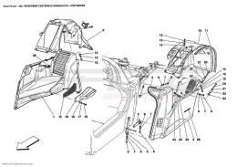 Ferrari Enzo REAR - OUTER TRIMS AND WHEELHOUSE