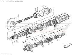 Ferrari Enzo SECONDARY SHAFT GEARS