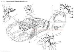 Ferrari Enzo TYRES PRESSURE CONTROL SYSTEM