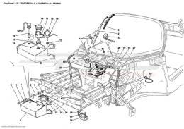 Ferrari Enzo WINDSHIELD, GLASS WASHER AND HORNS