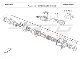 Ferrari F430 Coupé DIFFERENTIAL AND AXLE SHAFT