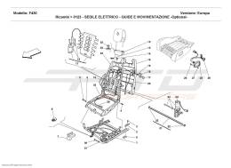 Ferrari F430 Coupé ELECTRICAL SEAT - GUIDE AND MOVEMENT