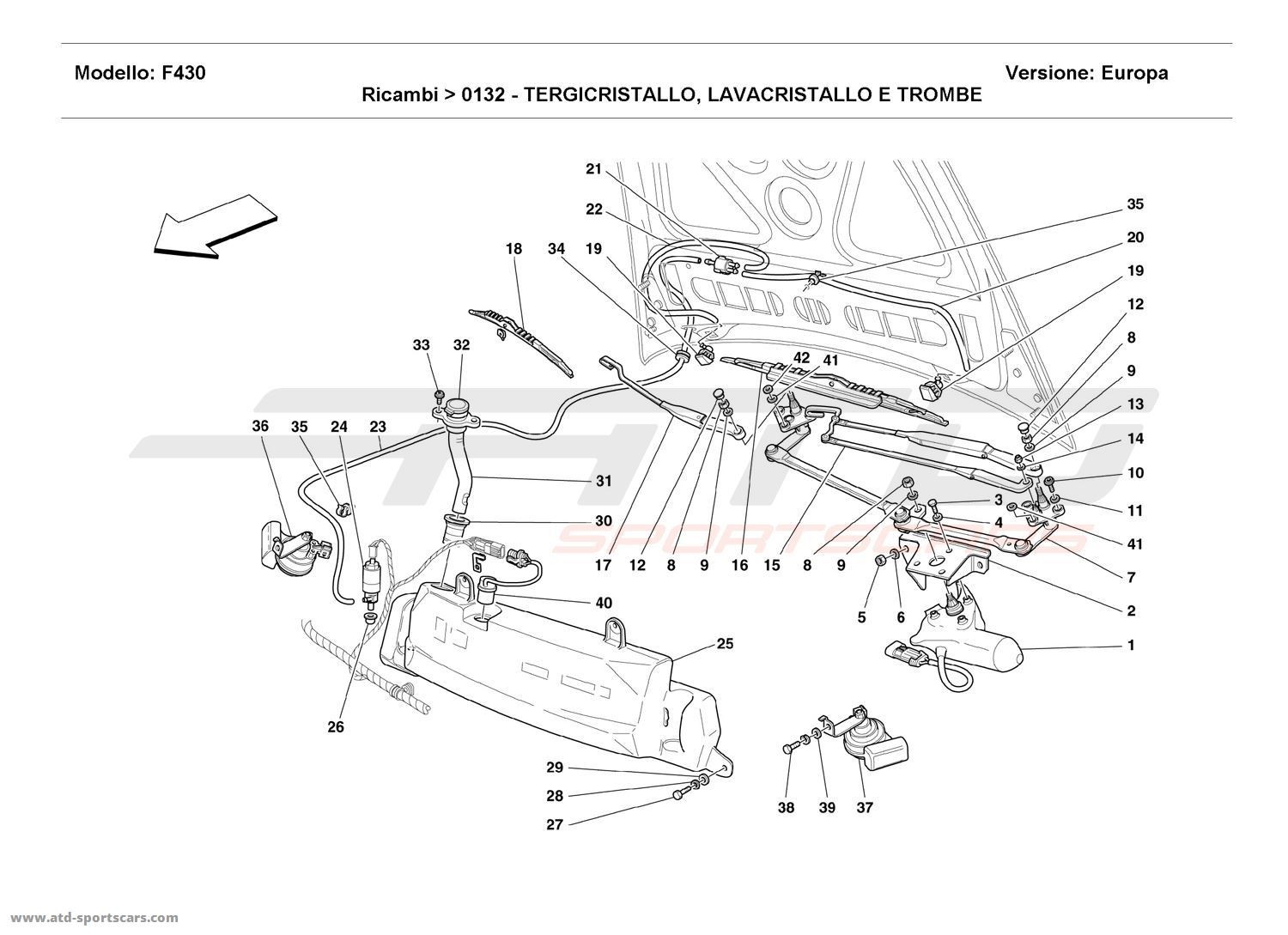 2002 Oldsmobile Silhouette Diagram Showing Brake Line also Army Technical Bulletin Tb 43 0116 likewise 1994 Chrysler New Yorker Evap Canister Solenoid Replacement together with 2006 Ferrari F430 Spider Windshield Washer Replacement besides How To Replace Ac Tube In A 1993 Jeep Cherokee. on blue chrysler new yorker