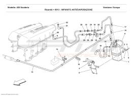 Ferrari F430 Scuderia ANTIEVAPORATION DEVICE