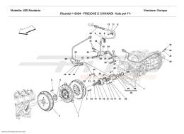 Ferrari F430 Scuderia CLUTCH AND CONTROLS - Valid for F1 -