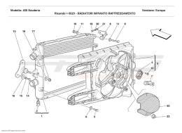 Ferrari F430 Scuderia COOLING SYSTEM RADIATORS