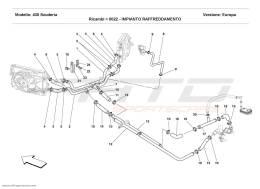 Ferrari F430 Scuderia COOLING SYSTEM