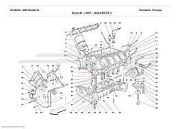 Ferrari F430 Scuderia CRANKCASE