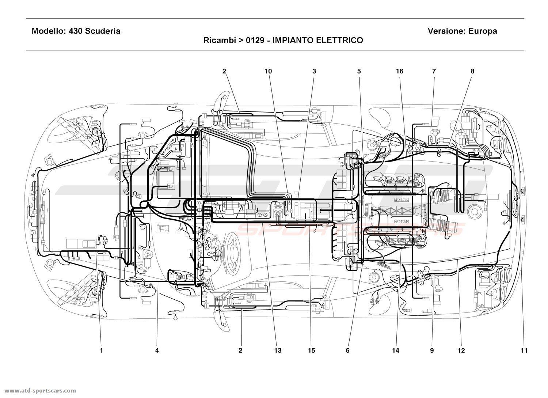 Ferrari Electrical Wiring Diagram on