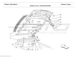 Ferrari F430 Scuderia ENGINE BONNET
