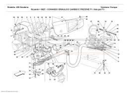 Ferrari F430 Scuderia F1 CLUTCH AND GEARBOX HYDRAULIC CONTROL