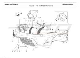 Ferrari F430 Scuderia FRONT BUMPER