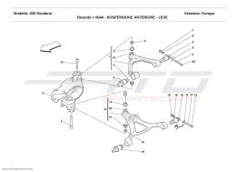 Ferrari F430 Scuderia FRONT SUSPENSION - WISHBONES