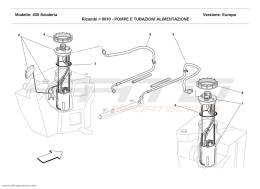 Ferrari F430 Scuderia FUEL PUMPS AND PIPES