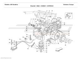 Ferrari F430 Scuderia GEARBOX - COVERS