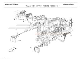 Ferrari F430 Scuderia INJECTION DEVICE - IGNITION