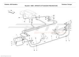 Ferrari F430 Scuderia PNEUMATICS ACTUATOR SYSTEM