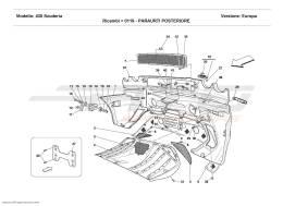 Ferrari F430 Scuderia REAR BUMPER