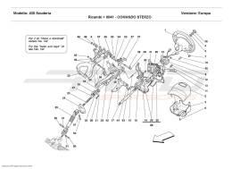 Ferrari F430 Scuderia STEERING COLUMN