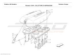 Ferrari F430 Scuderia SUCTION MANIFOLD