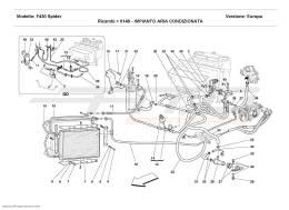 Ferrari F430 Spider AIR CONDITIONING SYSTEM