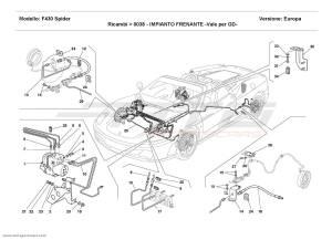 Ferrari F430 Spider BRAKE SYSTEM