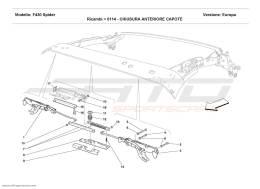 Ferrari F430 Spider CAPOTE FRONT CLOSING