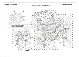 Ferrari F430 Spider CRANKCASE
