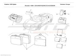 Ferrari F430 Spider DOCUMENTATION AND ACCESSORIES