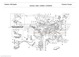 Ferrari F430 Spider GEARBOX - COVERS