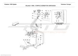 Ferrari F430 Spider HYDRAULIC STEERING PUMP AND TANK