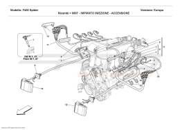 Ferrari F430 Spider INJECTION DEVICE - IGNITION