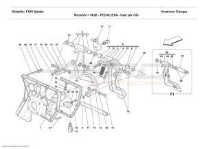 Ferrari F430 Spider PEDALS