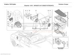 Ferrari F430 Spider POWERED HI FI BOSE SYSTEM