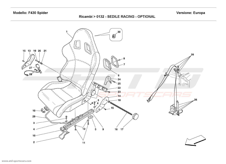 RACING SEAT - OPTIONAL