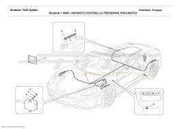 Ferrari F430 Spider TYRES PRESSURE CONTROL SYSTEM