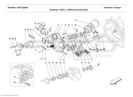 Ferrari F430 Spider WATER/OIL PUMP