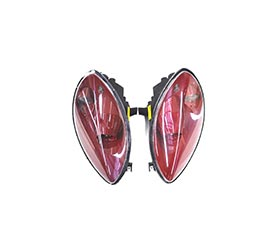 Ferrari 458 Italia Glasses - Lights