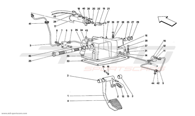 ferrari mondial t interior parts at atd sportscars atd sportscars. Black Bedroom Furniture Sets. Home Design Ideas