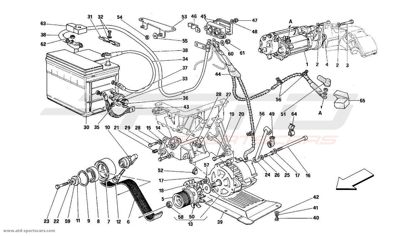 Ferrari Mondial T Electrical parts at ATD-Sportscars | ATD-Sportscars